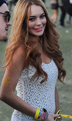 Lohan will be there too. (London Entertainment / MoVi Inc / Splash News)