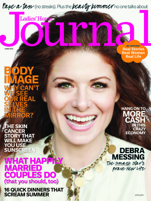 Messing on the cover of Ladies' Home Journal