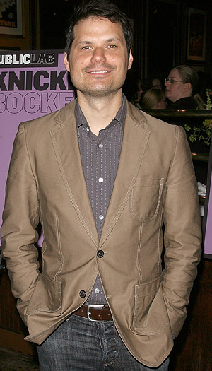 Michael Ian Black hits the red carpet. (Jim Spellman/WireImage)
