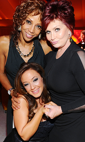Peete, Remini, and Osbourne. (Jamie McCarthy/WireImage)