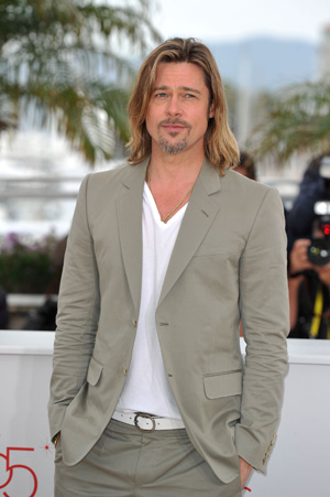 Pitt at the 65th annual Cannes Film Fest (Gareth Cattermole/Getty Images)