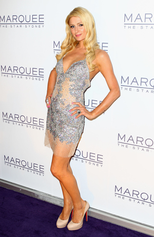 Hilton at the Marquee grand opening in Sydney. (Ryan Pierse/Getty Images)