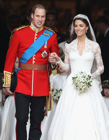 Prince William said he couldn't sleep the night before he married Kate. (Chris Jackson/Getty Images)