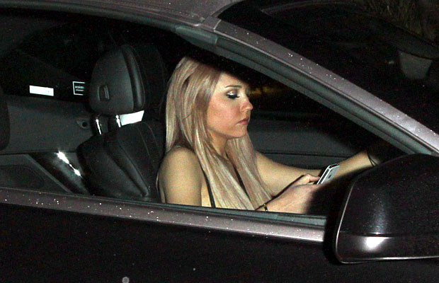 Amanda Bynes is back behind the wheel. (David Tonnessen/PacificCoastNews.com)
