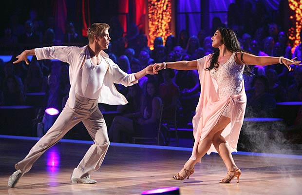 Derek Hough and Ricki Lake -- ABC/ADAM TAYLOR