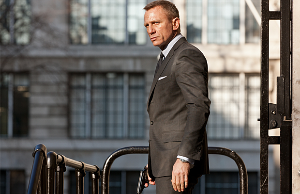 Daniel Craig as James Bond (Columbia Pictures)