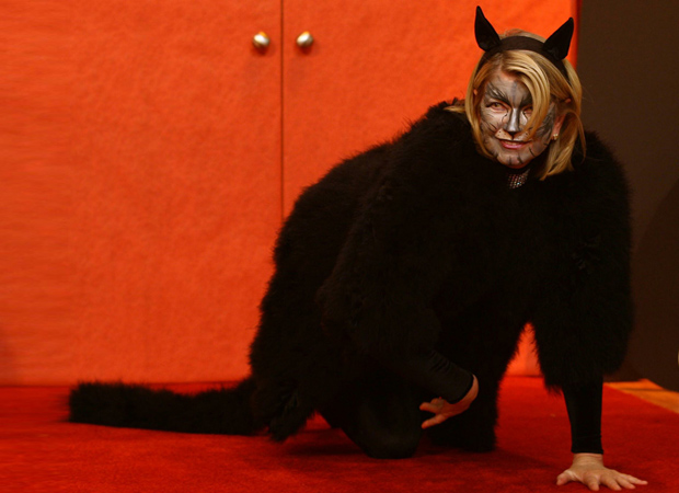 Martha Stewart's got cattitude. (Splash News)