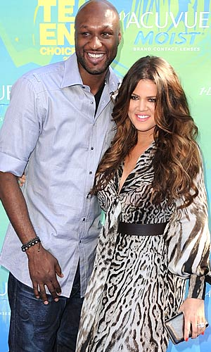 Khloe Kardashian and Lamar Odom wed after a six-week courtship. - Steve Granitz/WireImage