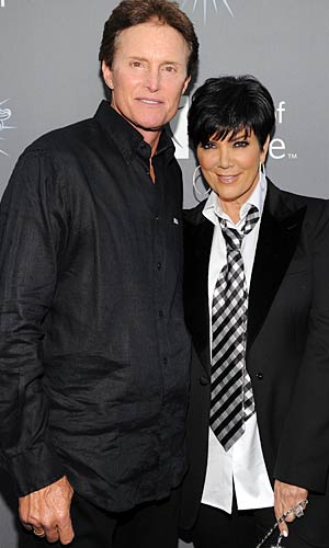 Kris and Bruce Jenner met on a blind date and married in 1990. - John Sciulli/Getty Image