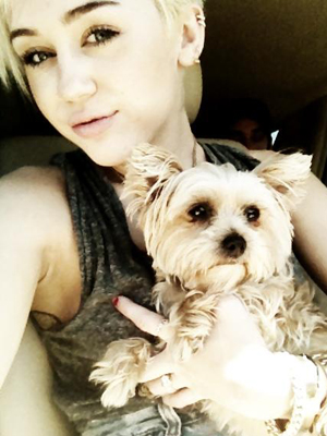 Miley and Lila. (Twitter)