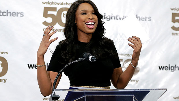 Jennifer Hudson sans engagement ring (Getty Images)