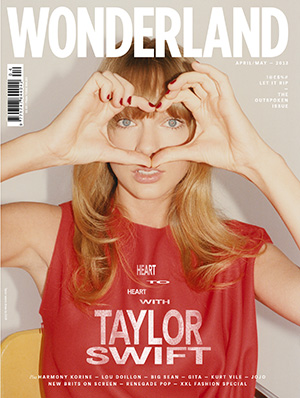 Taylor Swift covers Wonderland (courtesy of Wonderland)