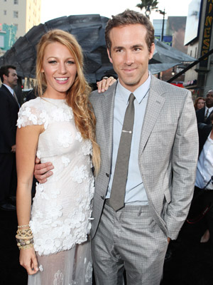Blake Lively and Ryan Reynolds on the red carpet -- before they were even a couple (WireImage)