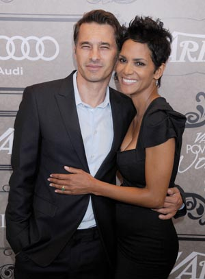 Halle Berry and Olivier Martinez (Getty Images)