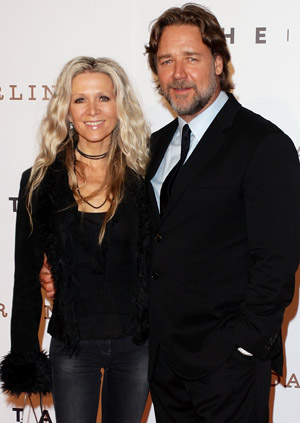 Spencer and Crowe in 2011 (Getty Images)