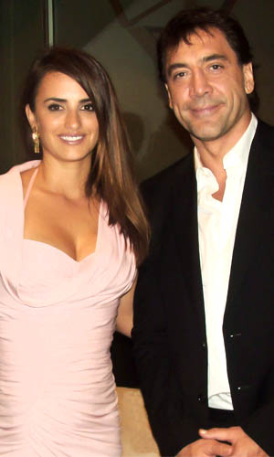 Penelope Cruz and Javier Bardem (Getty Images)