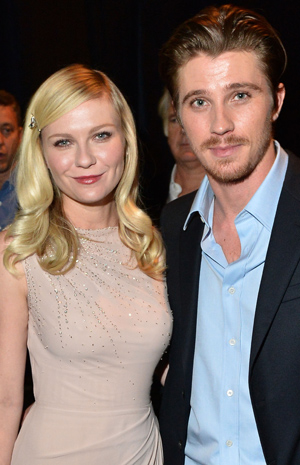 Kirsten Dunst and Garrett Hedlund (Getty Images)
