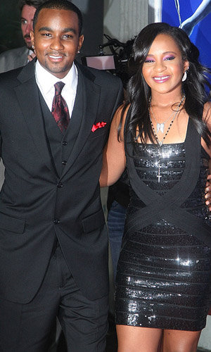 Nick Gordon and Bobbi Kristina Brown (WireImage)