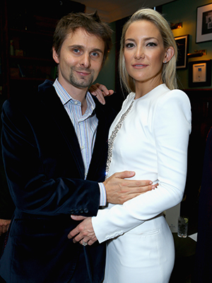 Kate Hudson with Matt Bellamy (Getty Images)
