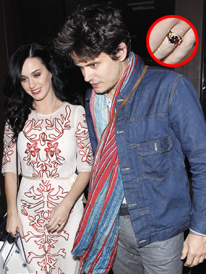 Katy Perry and John Mayer (Splash News)
