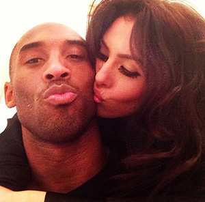 Kobe and Vanessa. (Courtesy of Bryant family)