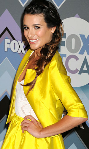 Lea Michele at Fox's January 2013 TCA panel (WireImage)