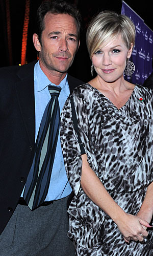 Jennie Garth talks friendship with Luke Perry. (WireImage)