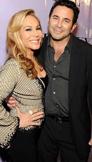 Adrienne and Paul. (WireImage)