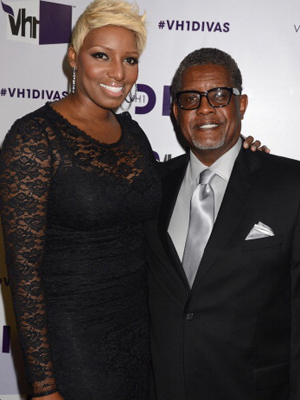 NeNe and Gregg on December 16. (WireImage)