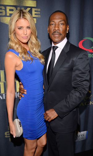 Eddie Murphy and Paige Butcher (Mark Davis/WireImage)