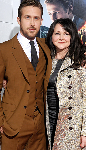 Ryan Gosling and his mom (WireImage)