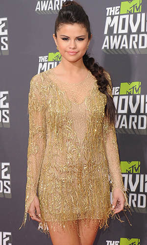 Selena Gomez at the MTV Movie Awards (Getty Images)