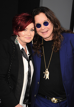 Sharon and Ozzy Osbourne (Getty Images)