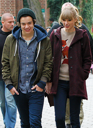 Harry Styles and Taylor Swift (Tom Meinelt/Splash News)