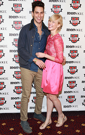 Gabe Saporta and Erin Fetherston (Getty Images)