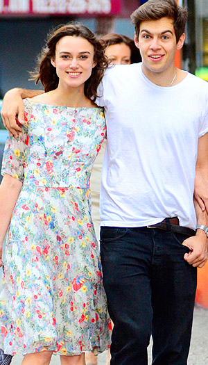 Keira Knighley and James Righton (Splash News)