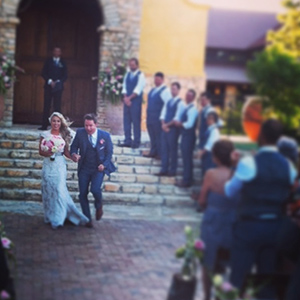 Scott Porter and Kelsey Mayfield wed (Instagram)