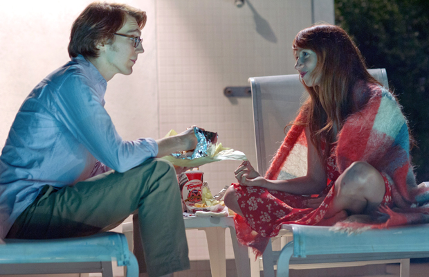 Dano and Kazan as Calvin and Ruby in Ruby Sparks. (Merrick Morton)