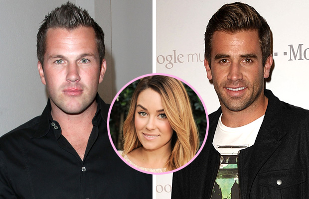 Doug Reinhardt and Jason Wahler both dated Lauren Conrad. (Getty Images/WireImage/FilmMagic)