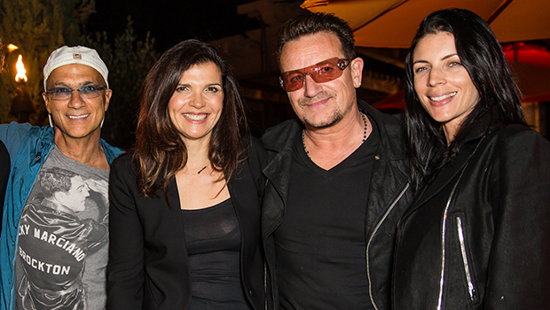Jimmy Iovine, Bono, and Liberty Ross (right) at the Diesel + Edun Studio Africa Event (Getty Images)