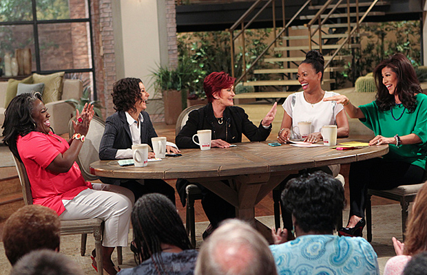 Sharon Osbourne on 'The Talk' on Tuesday (CBS)