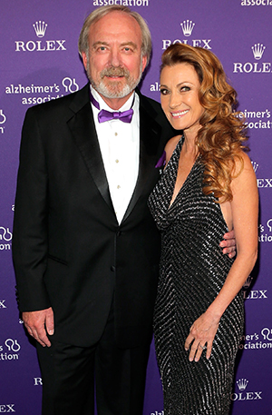 Jane Seymour and James Keach in October 2012 (J. Countess/Getty Images)