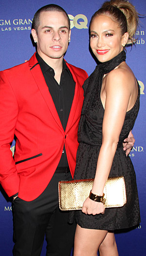 Casper Smart and Jennifer Lopez (Splash News)