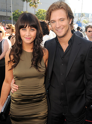 Michael Welch and Marissa Lefton at 'The Twilight Saga: Eclipse' premiere (Getty Images)