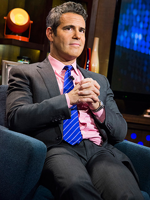Andy Cohen on 'Watch What Happens Live' (Bravo)