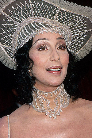 Cher at the 70th Academy Awards, March 1998 (evin Mazur Archive 1/WireImage)