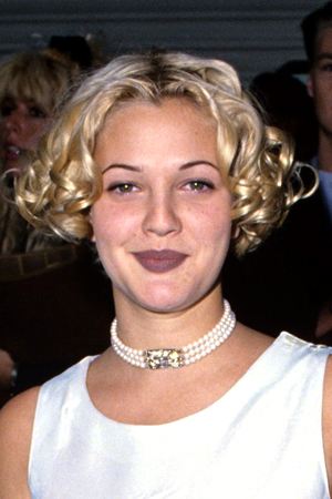 Drew Barrymore at the Billboard Music Awards, December 1993 (S. Granitz/WireImage)