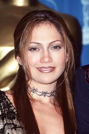 Jennifer Lopez at the 70th Academy Awards, March 1998 (S. Granitz/WireImage)