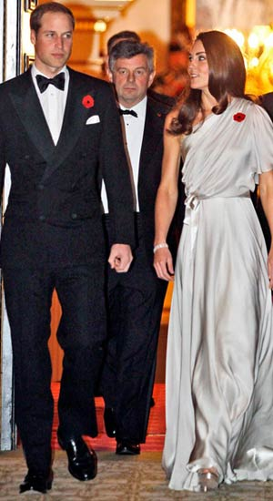 Kate Middleton: November 10, 2011 Lefteris Pitarakis/Getty Images