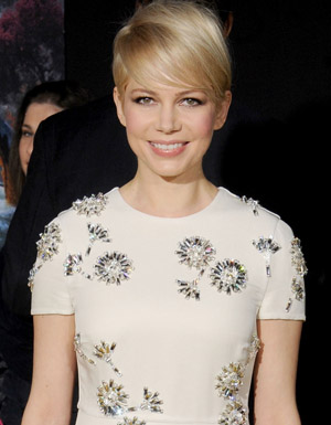 Michelle Williams at the 'Oz' premiere (Getty Images)